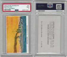 R169 Cameron Sales, Warships, 1942, #4 Destroyer, USS Downes, PSA 7 NM