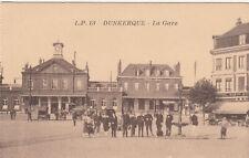 Carte postale ancienne DUNKERQUE NORD la gare