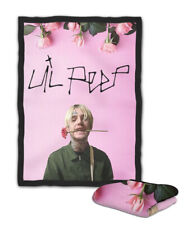 Lil Peep Pink Rose Blanket ( KIDS / MEDIUM / LARGE )