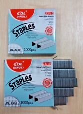 2,000 NEW HEAVY DUTY NUMBER / TYPE 23 QUALITY STAPLES 10mm 23/10 STAPLER TACKER