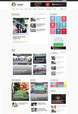 Autopilot News Website - Health Fitness Food - Free Installation + Hosting + SSL