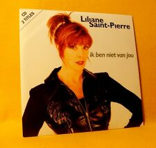 Cardsleeve Single CD Liliane Saint-Pierre Ik Ben Niet Van Jou 2TR 1997 Vlaam Pop