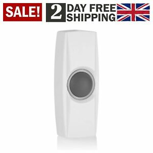 Byron Wireless Bell Push 100 M Range Compatible With Byron BY Range Doorbells