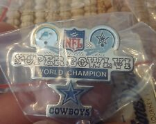 World Champions Dallas Cowboys NFL Super Bowl VI 6 pin Miami Dolphins