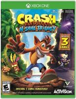 Crash Bandicoot N. Sane Trilogy for Xbox One [New Video Game] Xbox One