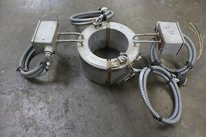 "ELECTRIC HEATING EQUIPMENT LPB-58459-F 6"" BAND HEATER 1000W COILS 104V VOLT 1PH"