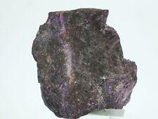 Sugulite Crystals & Cutting Rough 57 gms Wessels Mine Kalahari S Africa ( EA4525