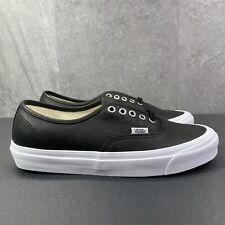 Vans OG Authentic LX Black Size 8.5 Mens Casual Skateboarding Shoes