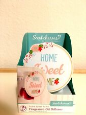 Scent Charms by ScentSationals Plug In Fragrance Oil Diffuser Home Sweet Home