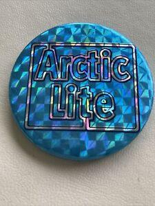 Vintage Beer Advertising Pin Badge - Arctic Lite