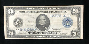*LOOK*  $20 LARGE NOTE SERIES 1914 BLUE SEAL BANK OF NEW YORK