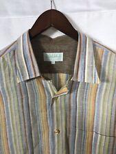 Inserch Mens Lot Of 2 2xl Long Sleeve Button Front 100% Linen