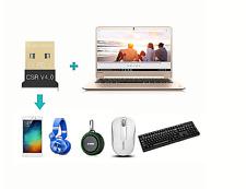 Clé Usb Bluetooth Dongle CSR 4.0📡Windows 10 8 XP Win 7 Vista 👍 livré Rapide🚀