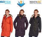 Regatta Lillier Ladies Parka Jacket Waterproof Breathable Insulated Long Coat