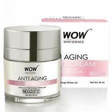 WOW Anti Aging No Parabens & Mineral Oil Night Cream, 50ml / 1.70 Fl Oz