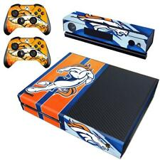 Denver Broncos NFL Xbox one Kinect 2 Controller Skin Vinyl Sticker Decals Covers