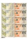 FULL SHEET BANKSY DI FACED TENNER £10 TEN POUND NOTE PRINCESS DIANA