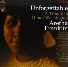 *Aretha Franklin - Unforgettable A Tribute To Dinah Washington (VinyLP) VG+
