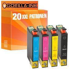 20 Druckerpatronen XXL für Epson Stylus D78 SX400 SX405 SX410 SX415 GI711-14