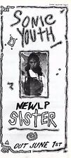 "30/5/87pg21 Album Advert 15x7"" Sonic Youth, Sister"
