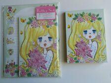 Ado Mizumori Kawaii Memo pad Letter set Lot Stationery Japan Rare Sun Star