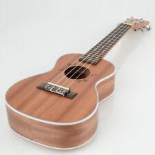 "New Beginner 23"" MUH-505 Sapele Wood Concert 4 String Ukulele Hawaiian Guitar"
