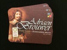 4 Belgian Adriaen Brouwer Beermats / Coasters (COLLECTABLE)
