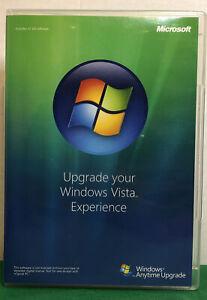 Microsoft Windows Vista Anytime Upgrade Disc 32 Bit, English, Computer Software