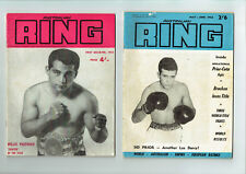 #SS,   EARLY 1960s AUSTRALIAN BOXING MAGAZINES - JOB LOT OF 12