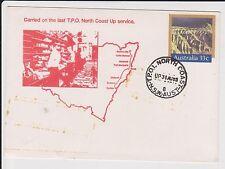 (LA63) 1985 AU PSE 33c copy TPO 1 cancel (toning)