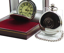 NORTHERN SOUL POCKET WATCH Real Silver Clad in Luxury Gift Box Wigan Casino Fans