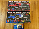 PAIR of Traxxas Slash Electric 2WD RTR RC 1/10th and Duratrax Onyx Fast Charger