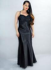 Unbranded Satin Sleeveless Ballgowns for Women