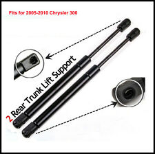 2 Fits 2005-2010 Chrysler 300 300C Trunk Struts Shocks Gas Lift Supports Springs