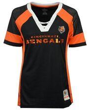 Cincinnati Bengals Women's Majestic NFL Draft Me Jersey Top Shirt M NWT $55