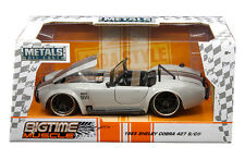 JADA 1:24 W/B METALS BIGTIME MUSCLE 1965 SHELBY COBRA 427 S/C DIECAST CAR 99085