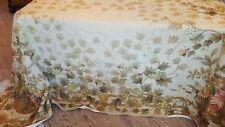 Aubusson Needlepoint Rug, Gorgeous floral, Pumpkins, Bumblebees