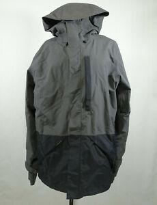 Dakine Smyth II GORE-TEX Shell Snowboard Hooded Jacket Men Size M Black Gray