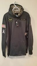 NEW YORK JETS 2016 NIKE NFL SALUTE TO SERVICE HOODIE XL