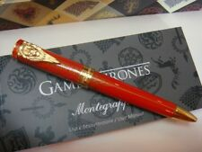 2017 Montegrappa Lannister Lion Game of Thrones Ball Pen