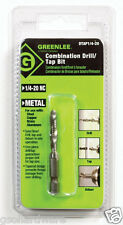 "GREENLEE DRILL/TAP BIT 1/4""-20 NEW"