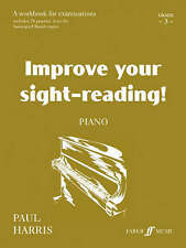 Improve Your Sight-Reading! Piano Grade 3 Harris Workbook ABRSM Exam Prep S127