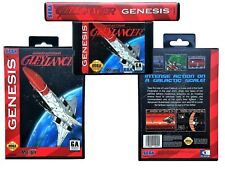 Gleylancer Advanced Busterhawk Sega Genesis NTSC English Gley Lancer Game / Case