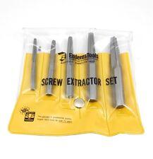 Enderes No.0524, 5 Piece Screw Extractor Set    New