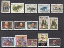 Ireland 2003 commemoratives 16 diff used stamps cv $32