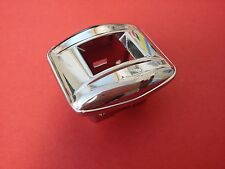 1955-1957 Chrome Power Window Switch Bezel Single  Pontiac Chevrolet -  NORS
