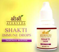 2X Sri Sri Ayurveda Shakti Drops For Immunity And Vitality Herbal & Natural 10ml