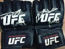 UFC Gloves Signed, MMA, Boxing, Charity, Offers Welcome