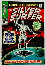 Silver Surfer #1 Origin Of The Watchers Silver Age Grail Hot Key No Reserve!!!!!