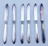 Rogers Bros Silverplate Knives Set 1847 Fruit Cheese